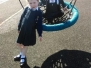 Junior Infants at the Playground