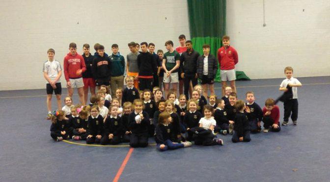 P.E. in Glenstal for Junior Classes